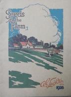 Catalogue 1928 Seeds For The Farm Leighton LTD - Books, Magazines, Comics