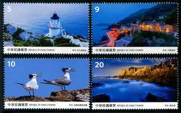 TAIWAN 2017 - Phares, Oiseaux, Paysages De Matsu - 4 Val Neuf // Mnh - 1945-... République De Chine