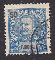 Funchal, Scott #21, Used, King Carlos, Issued 1897 - Funchal