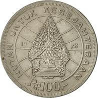 Indonésie, 100 Rupiah, 1978, TTB+, Copper-nickel, KM:42 - Indonésie