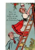 Non ! Ne Monte Pas, Soulève Ma Robe Et Tu Verras LE VIADUC-DES-FADES. MATEJA. Illustrateur - Frankreich