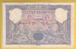 * BILLET FRANCAIS - 100 Francs Bleu Et Rose 19-10-1904 TB+ - 1871-1952 Antichi Franchi Circolanti Nel XX Secolo