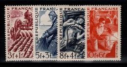 YV 823 à 826 N** Complete Les Metiers Cote 5 Eur - France