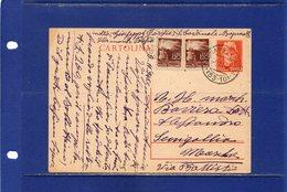 ##(DAN185/1)-911-1946-cartolina Postale Turrita Cent.60 Filagrano C121 Da Bagnara Calabra Per Senigallia In Tariffa L.3 - 6. 1946-.. Repubblica