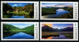 TAIWAN 2018 - Lacs Alpins Et Paysages III  - 4 Val Neuf // Mnh - 1945-... République De Chine