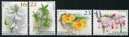 TAIWAN 2018 - Fleurs, Orchidées - 4 Val Neuf // Mnh - 1945-... République De Chine