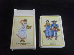 Jeu De 54 Cartes à Jouer - AUVERGNE BOURBONNAIS - 54 Cards