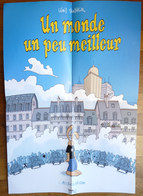 POSTER Un Monde Un Peu Meilleur Lewis TRONDHEIM DARGAUD CANAL BD 2006 - Affiches & Offsets