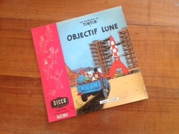 Objectif Lune - Les Aventures De Tintin - Disque Decca - Special Formats