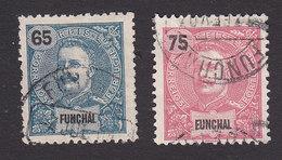 Funchal, Scott #23-24, Used, King Carlos, Issued 1897 - Funchal