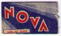 LAMETTA DA BARBA - LAMA NOVA -   ANNO 1940/50 - Lamette Da Barba
