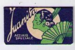 LAMETTA DA BARBA - LAMA JUANITA -   ANNO 1938/56 - Razor Blades