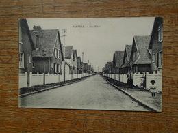 "Terville , Rue Ribot """" Carte Animée Petite Fille """" - France"