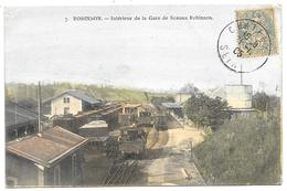 D 92 . CPA 1905 . ROBINSON . TRAIN En GARE De SCEAUX ROBINSON . - Sceaux