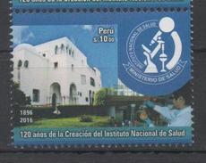 PERU ,2016 ,MNH, HEALTH INSITUTE, MEDICINE,1v - Health