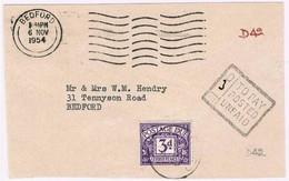 Great Britain, 1954, D 42 - 1952-.... (Elizabeth II)