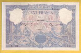 * BILLET FRANCAIS - 100 Francs Bleu Et Rose 14-3-1905 TTB - 1871-1952 Anciens Francs Circulés Au XXème