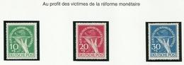 Allemagne BERLIN 1949 N° 54 à 56 Neuf Avec Charnière - Ungebraucht
