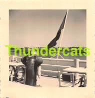 ANCIENNE PHOTO FRANCE 7 CM X 7 CM  1949   PORT MANECH - Lieux