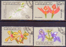 MALAWI 1969 SG #329-32 Compl.set Used Orchids - Malawi (1964-...)