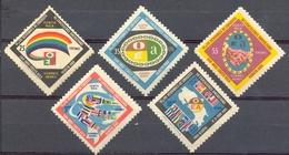 Costa Rica - 1960 Yt PA 291/295 - 6ème Et 7ème Conférence Panaméricaine - ** Sauf 291 * TC - Costa Rica