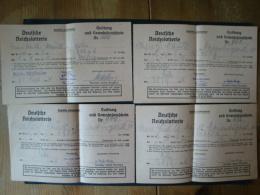 Deutsche Reichslotterie, 4 Lose Köln 1944 !! - Lotterielose