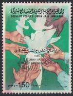 Libye Oblitéré Used Journée Internationale Coopération Avec Le Peuple Palestinien SU - Libië