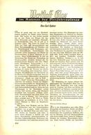 Werkstoff Glas / Artikel, Entnommen Aus Zeitschrift /1938 - Pacchi