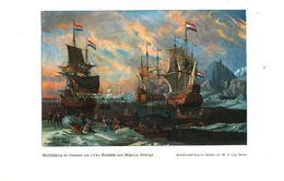 Walfischfang Im Eismeer Um 1700 (nach Einem Gemälde Von Wigerus Vitringa) / Druck, Entnommen Aus Zeitschrift /1938 - Bücher, Zeitschriften, Comics