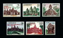 Camboya  Nº Yvert  187-188/92 (sobrecarga)  En Nuevo - Cambodia