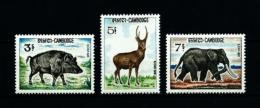 Camboya  Nº Yvert  184/6  En Nuevo - Cambodia