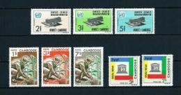 Camboya  Nº Yvert  172/4-175/7-178/9  En Nuevo - Cambodia