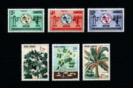 Camboya  Nº Yvert  161/3-164/6  En Nuevo - Cambodia