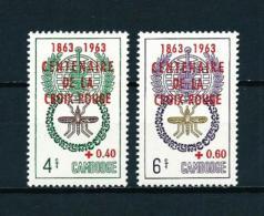 Camboya  Nº Yvert  139/40  En Nuevo - Cambodia