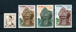 Camboya  Nº Yvert  132/4-135  En Nuevo - Cambodia