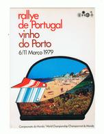 POSTCARD»RALLYE DE PORTUGAL, VINHO DO PORTO»RALLY WORLD CHAMPIONSHIP»PORTUGAL»1979»NM CONDITION - Rallyes