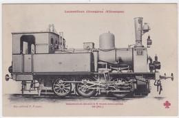 Locomotive Tender à 6 Roues Accouplées - Trains