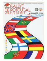POSTCARD»RALLYE DE PORTUGAL, VINHO DO PORTO»RALLY WORLD CHAMPIONSHIP»PORTUGAL»1986»NM CONDITION - Rallyes