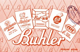 BUVARD   BUHLER - Wash & Clean