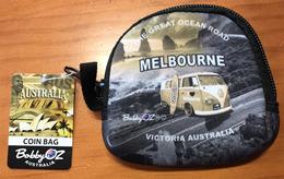 Australian Coin Bag (Porte Monnaie) Etat Neuf, Souvenir D'AUSTRALIE - Advertising