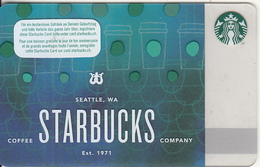 SWITZERLAND - Starbucks Coffee Company, Starbucks Card, CN : 0096, Unused - Gift Cards