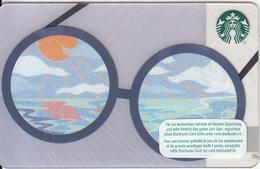 SWITZERLAND - Sunglasses, Starbucks Card, CN : 0096, Unused - Gift Cards