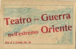 Far East War Theater, Set Of 6 Map Postcards Korea Japan China Port Arthur 1904 - Other Wars