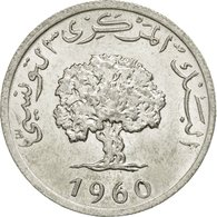 Tunisie, 5 Millim, 1960, Paris, TTB, Aluminium, KM:282 - Tunisie