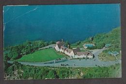 Aerial View Of Keltic Lodge Ingonish Beach, NS - 1984 Used Creased & Wear - Cape Breton