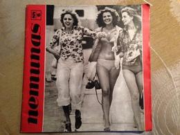 1988 Magazine Nemunas Culture Lithuania - Cultura