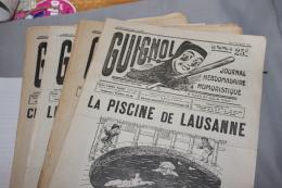 """Lot De 40 Journaux """"Guignol"""" 1932-33 LYON - Rhône-Alpes"""