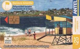TARJETA TELEFONICA DE URUGUAY, 313a (157) A.N.G.U. - Uruguay