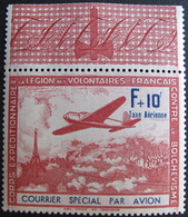 FD/2031 - 1941 - LVF - N°3 - LUXE - BEAU BdF NEUF** - Liberation