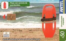 TARJETA TELEFONICA DE URUGUAY, 317a (159) A.N.G.U. - Uruguay